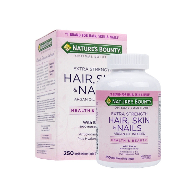 Nature S Bounty Optimal Solutions Extra Strength Hair Skin