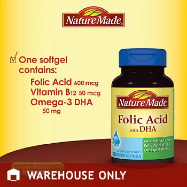 Nature Made Folic Acid Costco