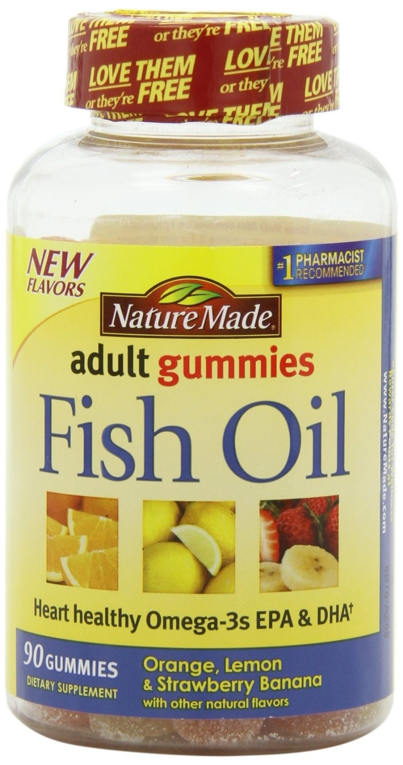 Nature made 220 for Nature made fish oil gummies