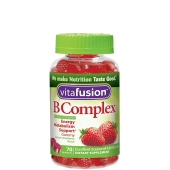 Vitafusion 小熊 维生素B族果软糖草莓味缓解疲劳护肝70粒