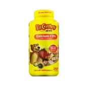L'il Critters小熊糖钙加维生素D软糖250粒