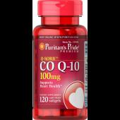 Puritan's Pride 普丽普莱 辅酶CoQ10软胶囊 100mg 120粒 保护心脏