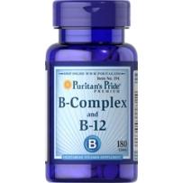 Puritan's Pride 普丽普莱 复合维生素B族片 (含B1B2B3B12) 180粒