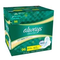 Always Ultra Thin 超薄护翼卫生巾 96片