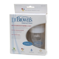 Dr. Brown's 布朗博士 好流畅宽口奶瓶 120ml 两只装
