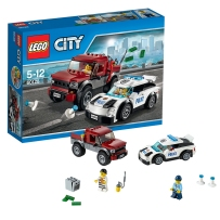 乐高城市系列60128警察追踪LEGO CITY 积木玩具拼插益智