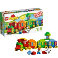 乐高得宝系列10558数字火车LEGO DUPLO 积木玩具大颗粒