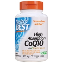 Doctor's best多特倍斯 高吸收辅酶Q10 保护心血管健康卵巢备孕软胶囊 400mg60粒