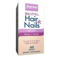 美国Jarrow Formulas杰诺 胶原蛋白秀发营养片美颜片60粒 护甲护肤生物素缓解产后压力