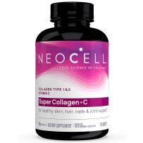Neocell 超级胶原蛋白I&III+维生素VC 6000mg 120片 美白润肤