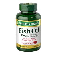 Nature's Bounty 自然之宝鱼油1000mg 120粒 去胆固醇