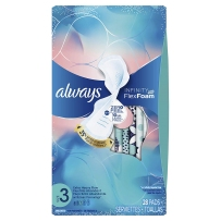 always 液体卫生巾 蓝色款日常量多 28片 3号 28cm