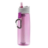LifeStraw 生命吸管 LifeStraw Go 过滤水壶 650ml 粉色