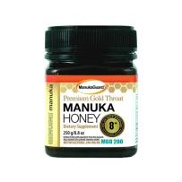 Manuka guard麦卢卡蜂蜜 THROAT & CHEST止咳化痰 高级金嗓子8+ MGO 200  250g