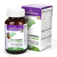 New Chapter新章 女性每日复合维生素片含矿物质 72粒 维护女性健康