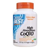 Doctor s Best 高吸收辅酶Q10 保护心血管健康卵巢备孕软胶囊 200mg 60粒