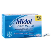 Bayer拜耳Midol痛经药女性缓解月经疼痛止头疼止姨妈痛进口40片