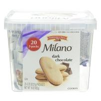 Milano非凡农庄黑巧克力夹心曲奇饼干20包 425g