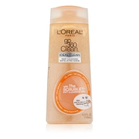 L'Oreal Paris 欧莱雅Go360软刷深层清洁磨砂洁面露洗面奶178ml带洗脸刷