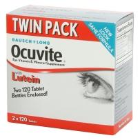 Ocuvite博士伦叶黄素-眼睛营养保健240片(双瓶装 120x2)