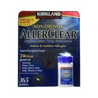 Kirkland AllerClear 氯雷他定片/无倦型 缓解过敏症状 10mg365粒