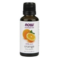 NOW FOODS 100%纯天然甜橙精油30ml 阳光愉快的味道芳香疗法