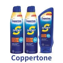 Coppertone水宝宝温和滋润防水隔离防日晒156ml*2喷雾+207ml霜