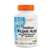 美国直邮doctor's best右旋硫辛酸R-lipoic Acid 60粒稳定血糖