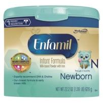 Enfamil 美赞臣 金樽1段(0-3个月)新生儿配方奶粉 629g 新包装