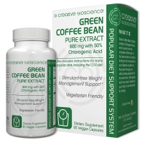 Creative Bioscience 绿咖啡豆提取物 800mg* 90粒素食胶囊