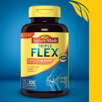 Nature Made 三倍维骨力 TripleFlex® Triple Strength 200粒 新包装