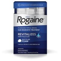 Regaine男士泡沫倍健生发防脱 强效生发泡沫 3瓶装 无香泡沫型