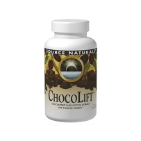 Source Naturals  源美 ChocoLift 500mg可可粉萃取物增加能量   60片