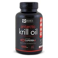 Sports Research天然虾青素胶囊+南极磷虾油通血管调三高含omega-3