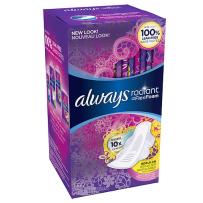 Always Radiant Infinity超薄护翼卫生巾 清香型 32片
