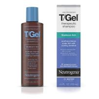 Neutrogena 露得清T - Gel顽固性瘙痒洗发水130ML 薄荷味(含0.5%煤焦油)银屑防脱屑治疗可缓解牛皮癣和脂溢性皮炎引起的头皮瘙痒