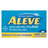 拜耳Bayer Aleve缓解疼痛220mg 270粒持续12小时