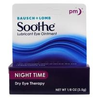 Bausch & Lomb博士伦 Soothe夜用滋润眼膏 3.5g
