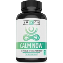 Zhou Nutrition Calm NOW释放压力改善情绪放松解压专注积极60颗