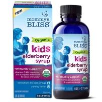 Mommy's bliss 妈宝乐 有机接骨木浆果糖浆 90ml 1周+ 婴幼儿宝宝儿童VC增强抵抗力