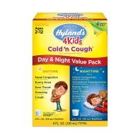 Hyland's 4Kids儿童感冒止 咳糖浆日夜组合套装
