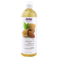 Now Foods almond oil 甜杏仁油 473ml 保湿消除妊娠纹