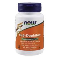 NOW Foods Gr8 8种40亿活性益生菌胶囊 60粒 便秘腹泻肠道健康