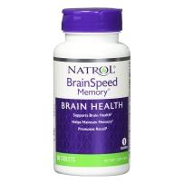 Natrol Brain Speed Memory活脑素胶囊60粒益智强健脑力