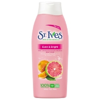 St.Ives  圣艾芙柠檬西柚滋润清新淋浴乳   709ml