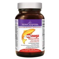 美国进口 New Chapter 新章天然DHA孕妇专用深海鱼油软胶囊1000mg 产前产后营养 60粒