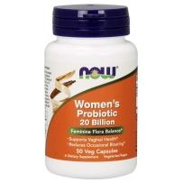 美国NOW Foods 诺奥 女性专用妇科益生菌胶囊50粒孕妇可用进口私处霉菌护理