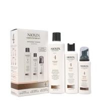 Nioxin防脱系列 4号 洗发水护发素精华液三件套 止住头发掉掉掉