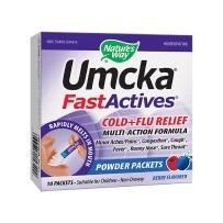 美国 Nature's Way Umcka顺势疗法 儿童快速起效缓解受凉+着凉浆果味道不瞌睡10粉包