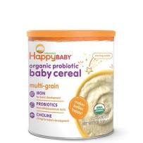 HappyBaby禧贝有机混合谷物婴儿三段 3段高铁米粉新包装 198g